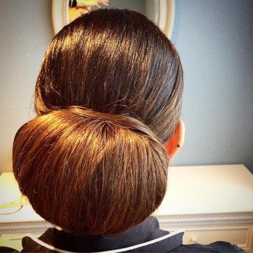 bigger tighter chignon