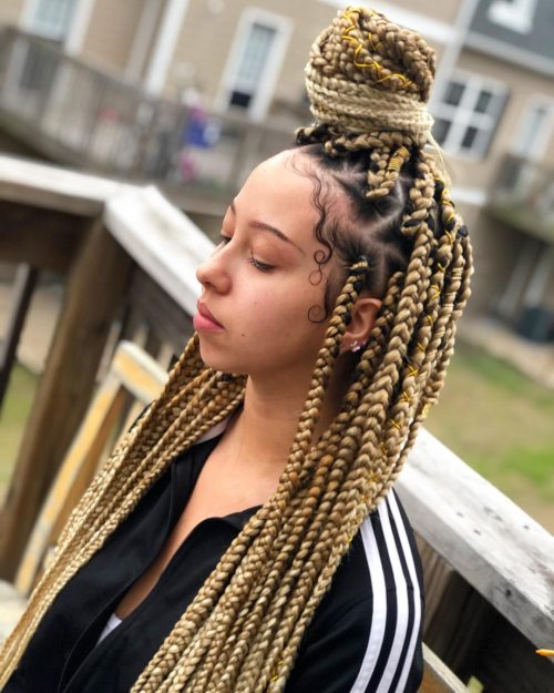 13 Impressive Black And Blonde Hair Color Ideas For 2019