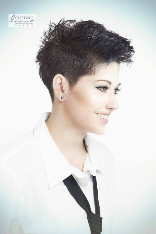black-hair-pixie-cut
