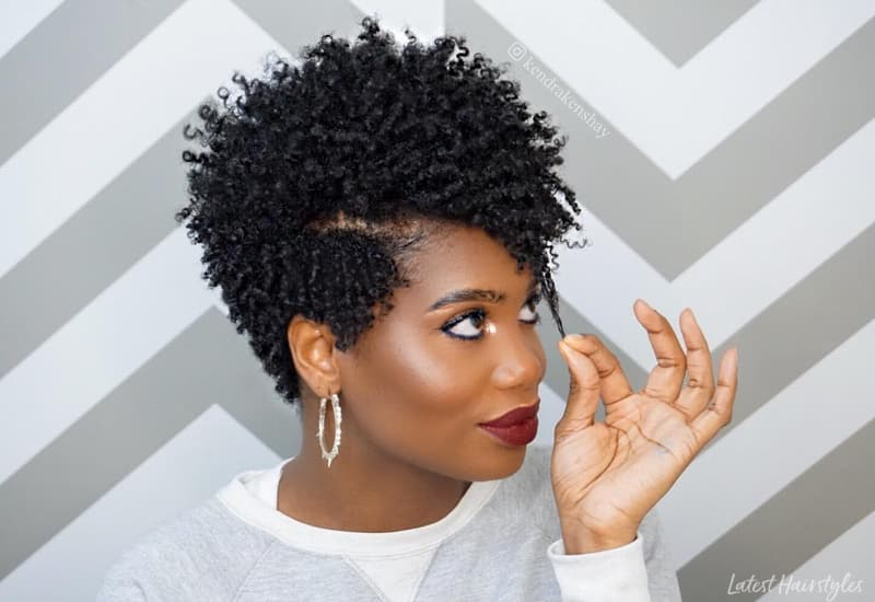 17 Easiest Natural Hairstyles For Black Women