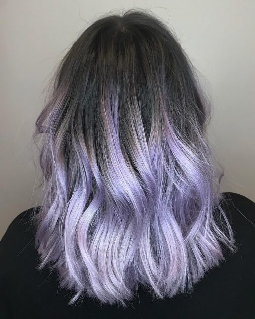 14 Perfect Examples Of Lavender Hair Colors