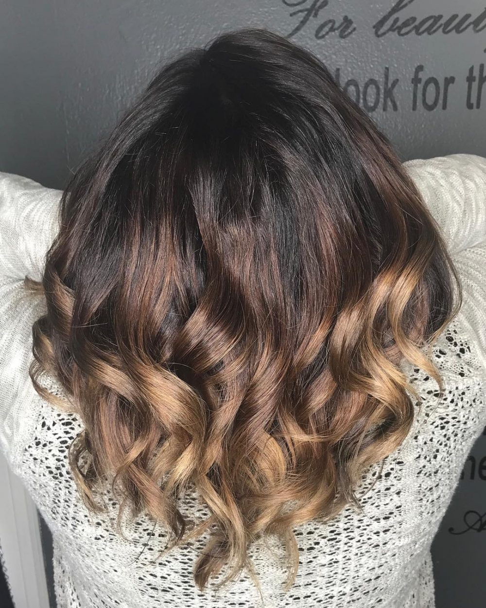 Blended Dimension hairstyle