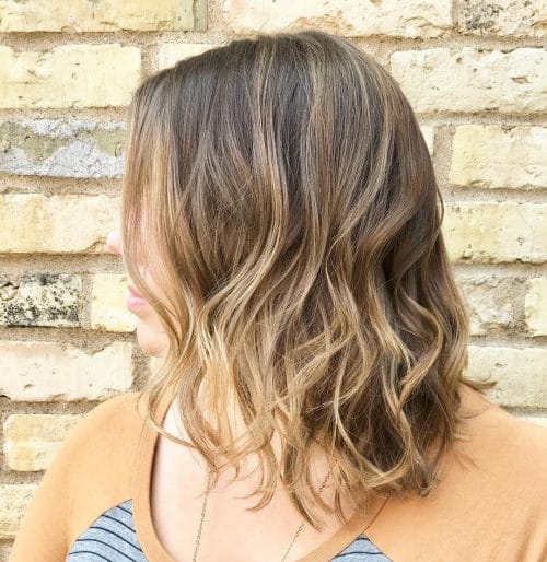 Blended Brunette Balayage hairstyle