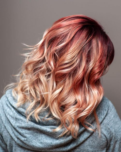 Red Balayage Hair Colors: 19 Hottest Examples for 2019