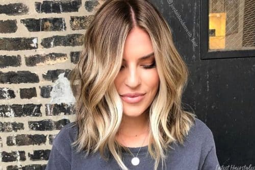 Blonde balayage hair colors