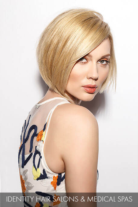 Blonde Bob Makeover - After