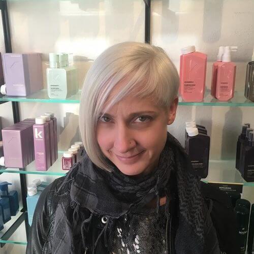 blonde bob for women over 50