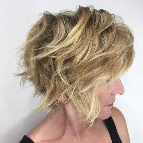 blonde curly hair for women over 50