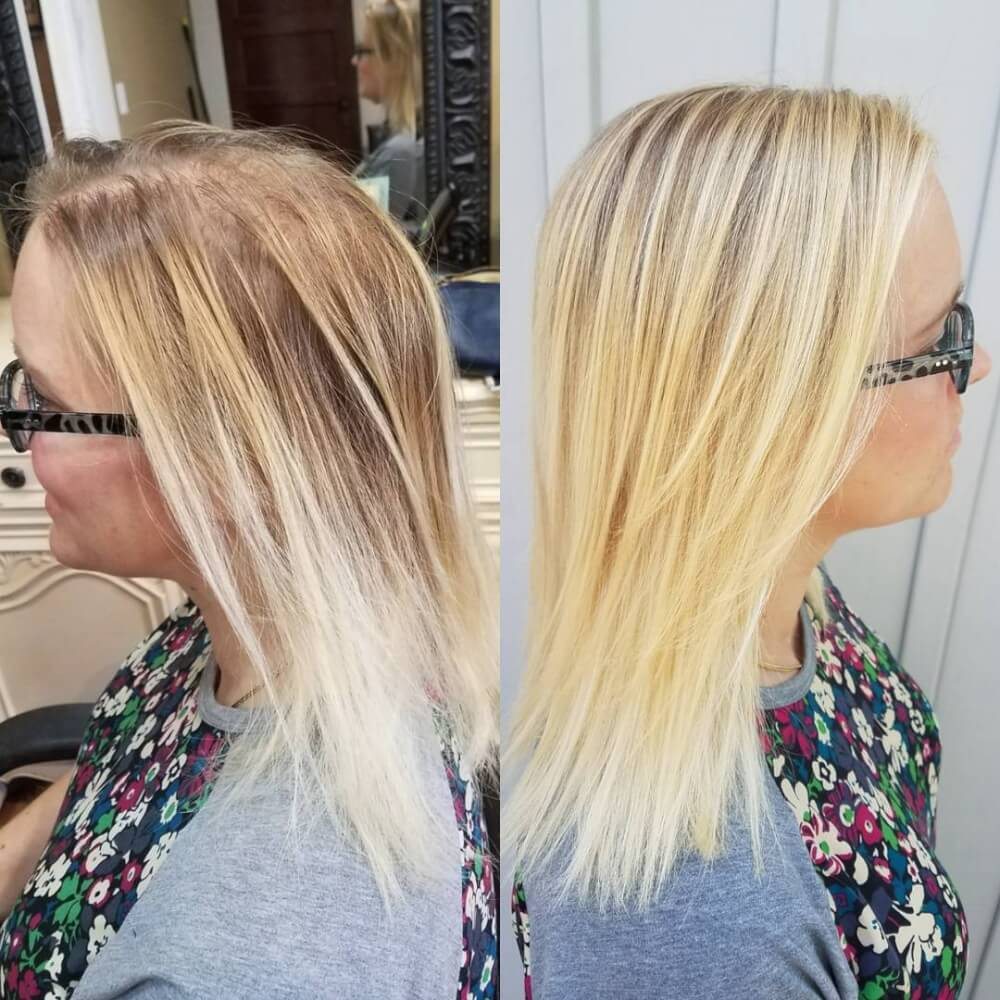 Blonde Illusion hairstyle