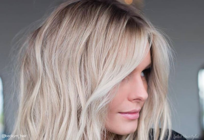 18 Blonde Hair With Dark Roots Ideas To Copy Right Now In 2019