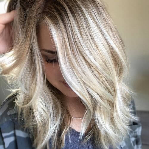 blonde hair for women