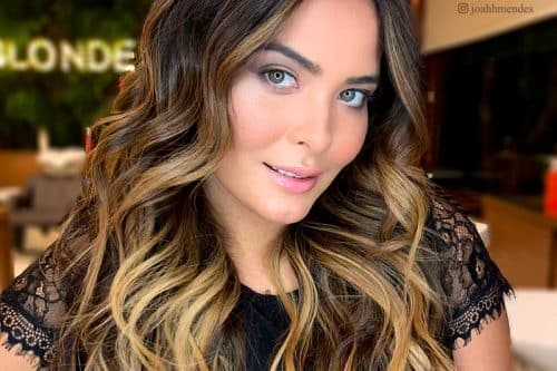 34 Sweetest Caramel Highlights on Light to Dark Brown Hair ...
