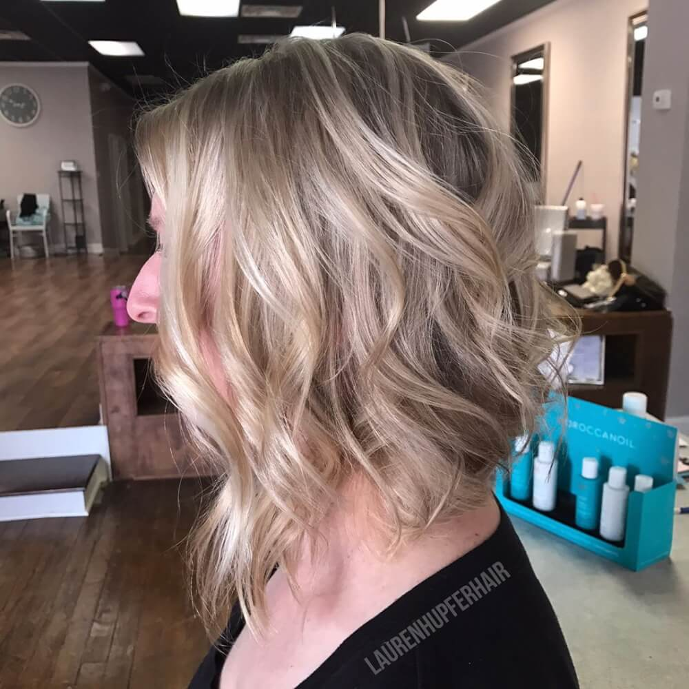 The perfect Lob hairstyle