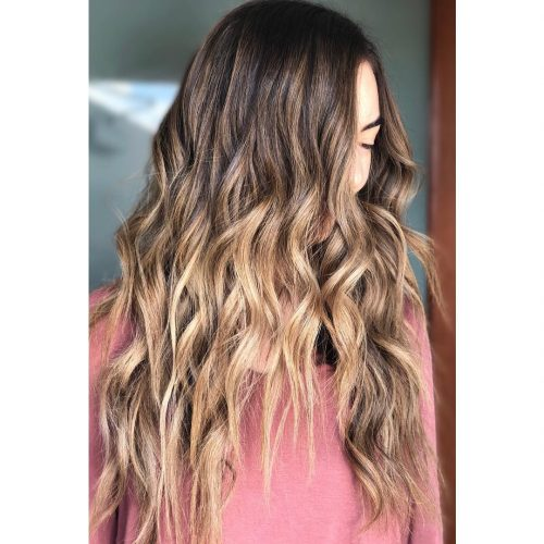 streaks in hair styles 38 top highlights for brown amp 4144
