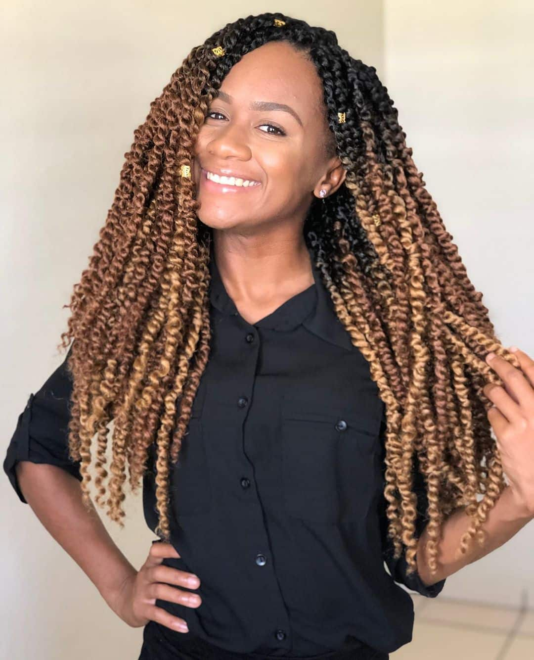 The 15 Hottest Twist Braid Styles Trending in 15