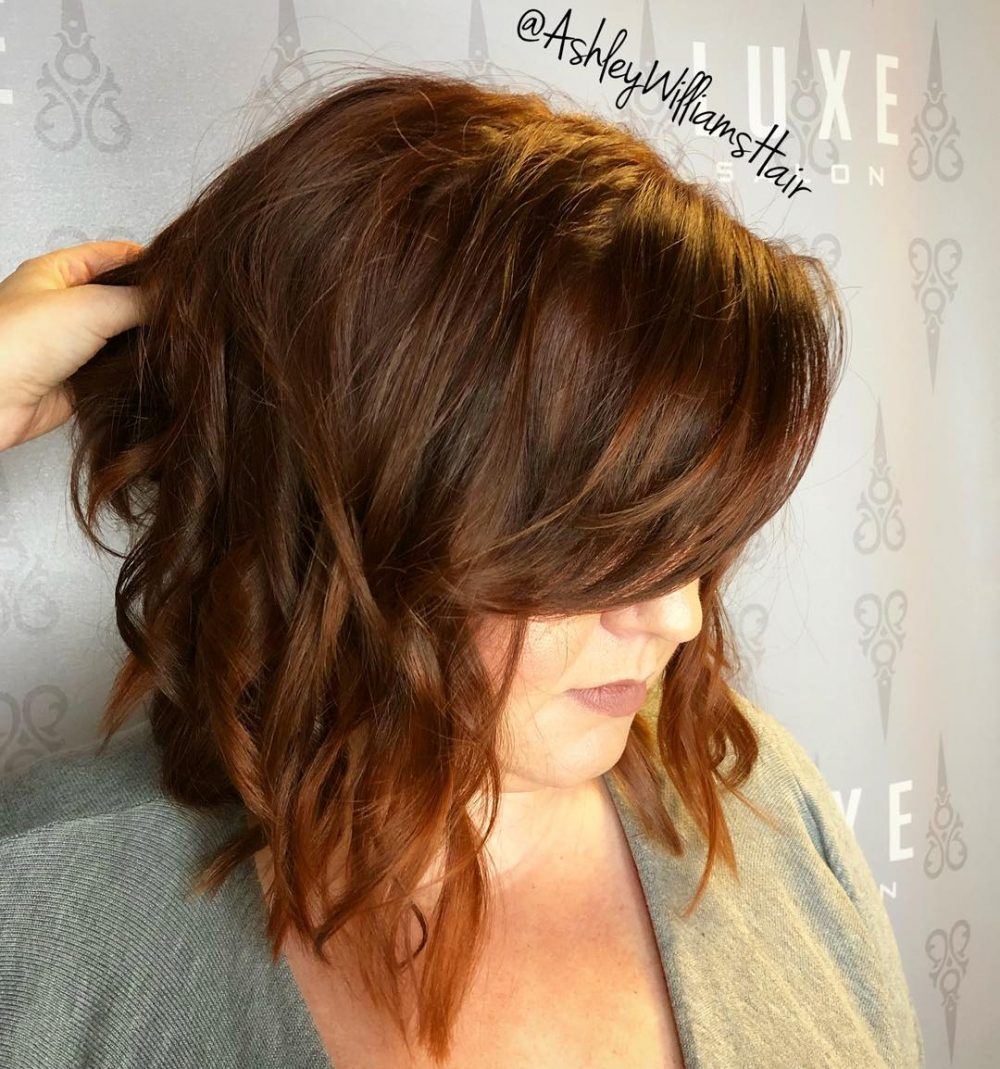 Blunt Bob & Side-Swept Bangs hairstyle