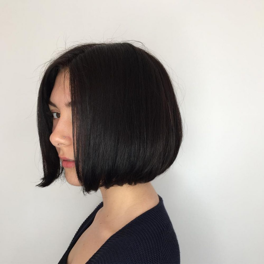 Blunt Chin-Length Bob hairstyle