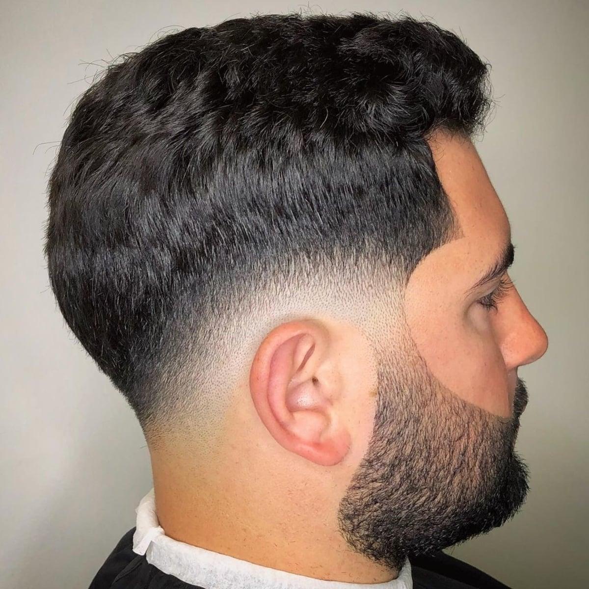 Desenfoque se desvanecen con barba