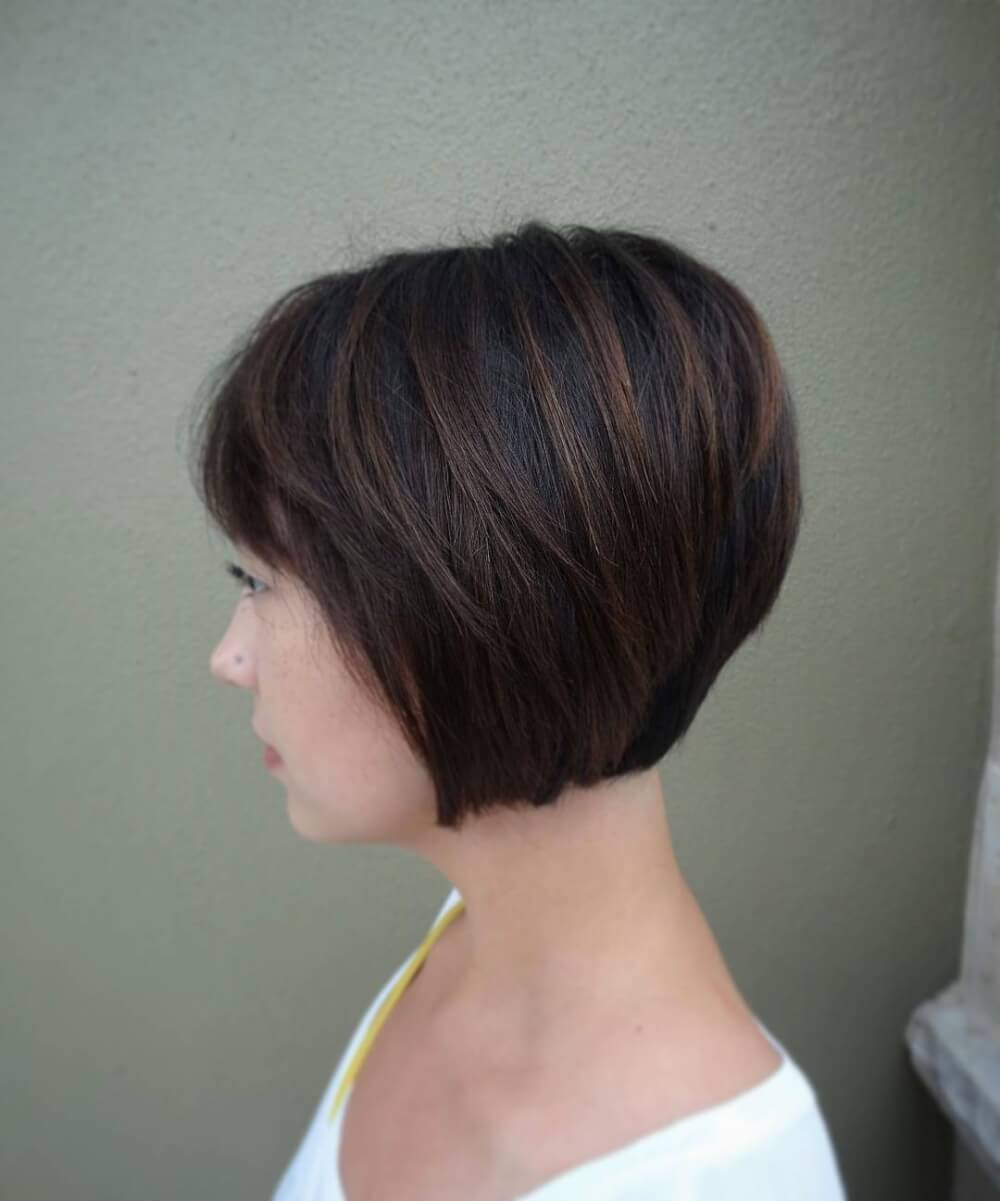 Low Maintenance Bob hairstyle