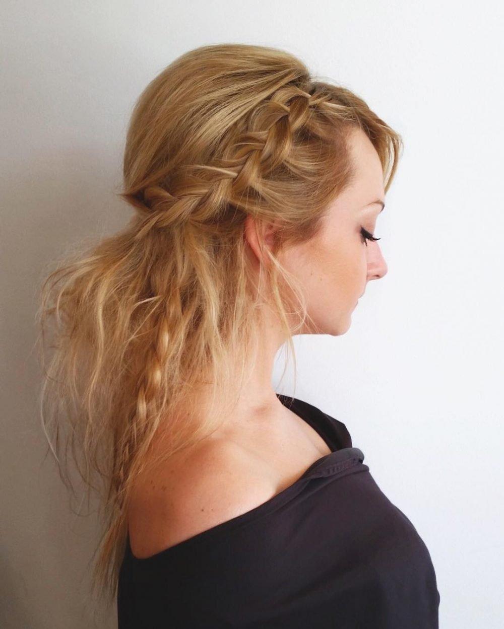 Bohemian & Natural hairstyle