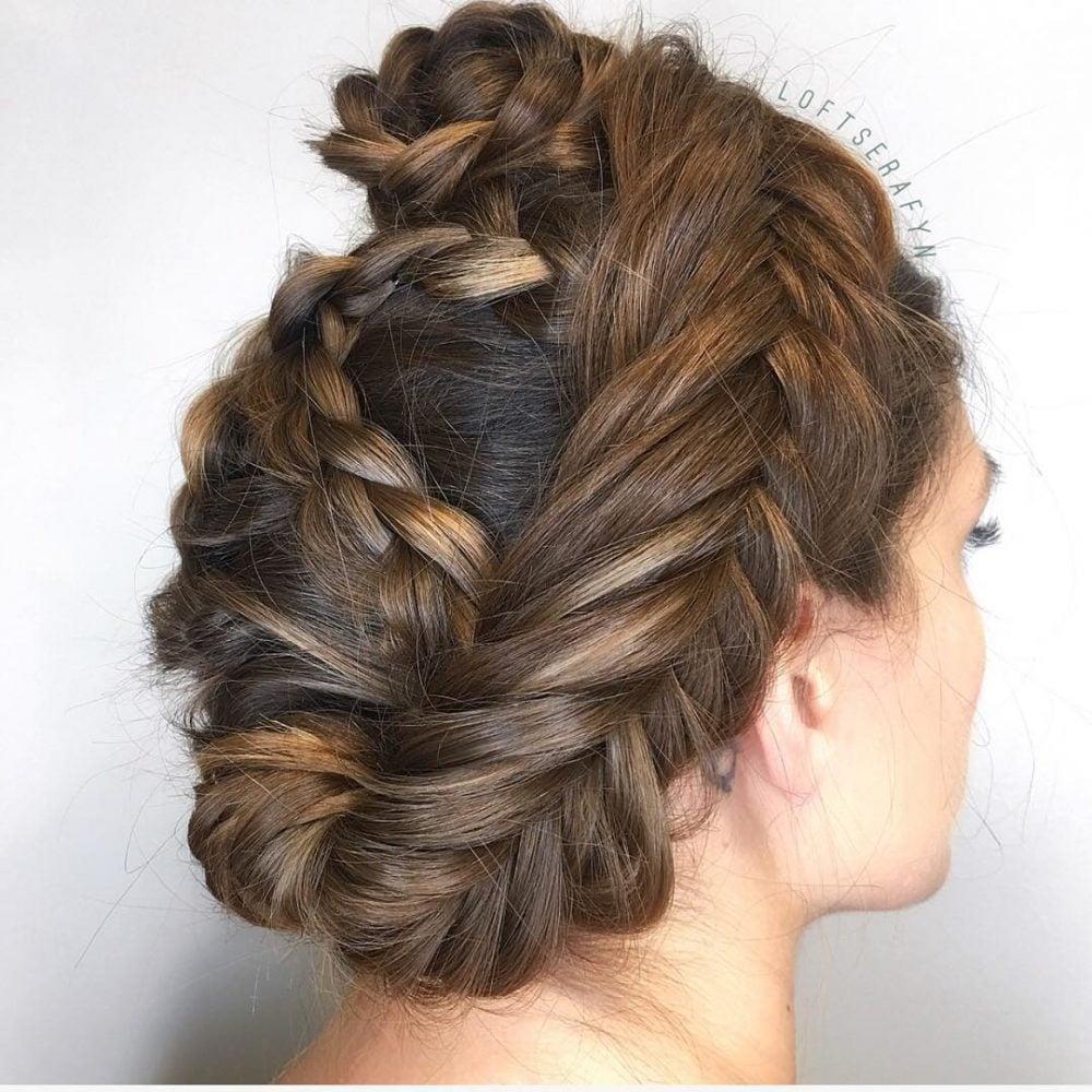 Bohemian Chic Braids hairstyle