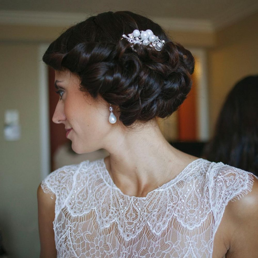 Bohemian Chic Updo hairstyle
