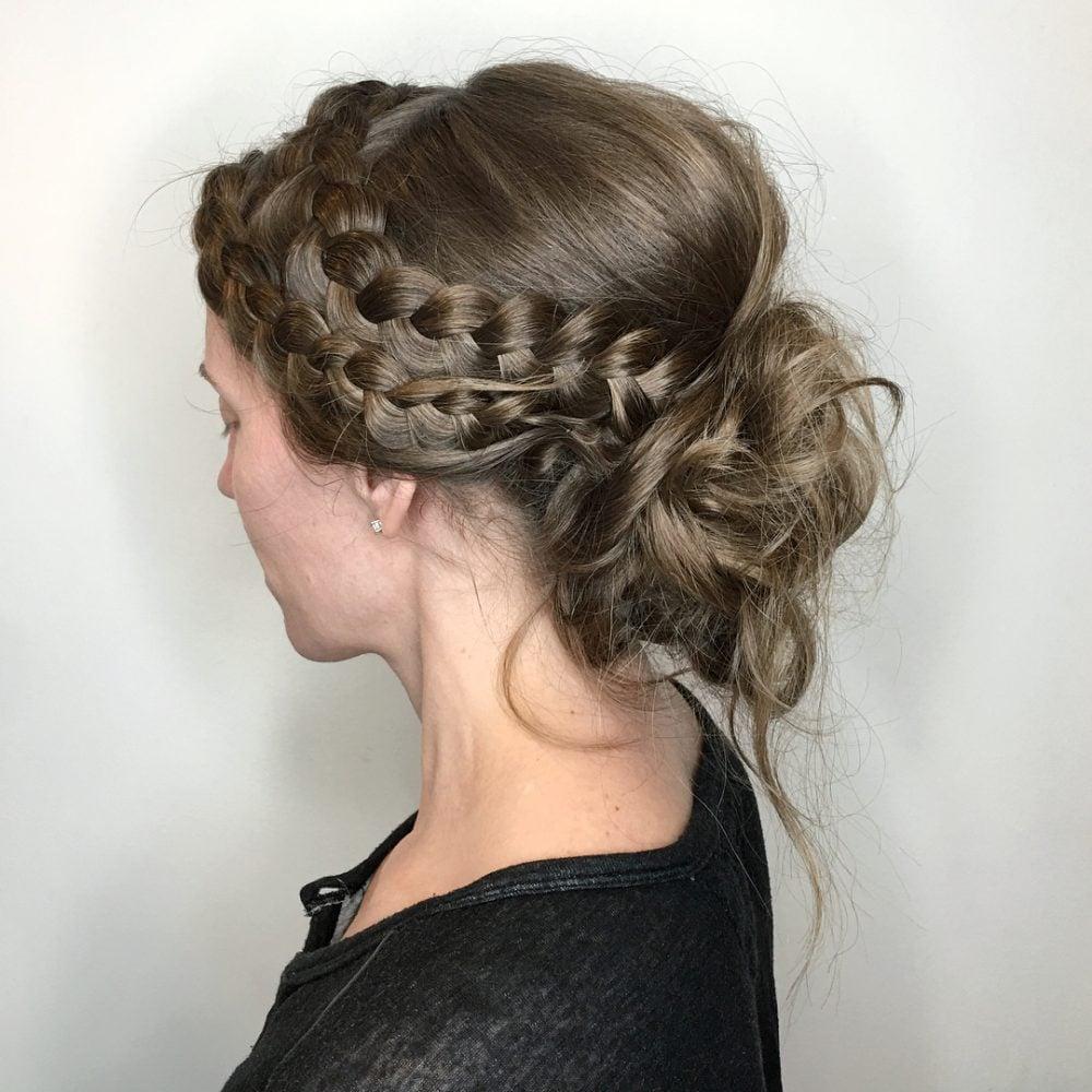 Bohemian Twist hairstyle