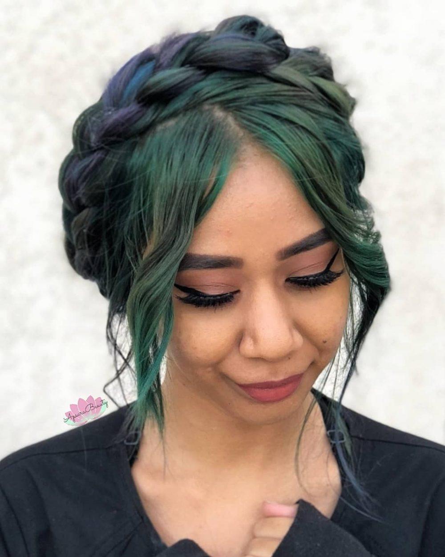 Boho & Flirty hairstyle