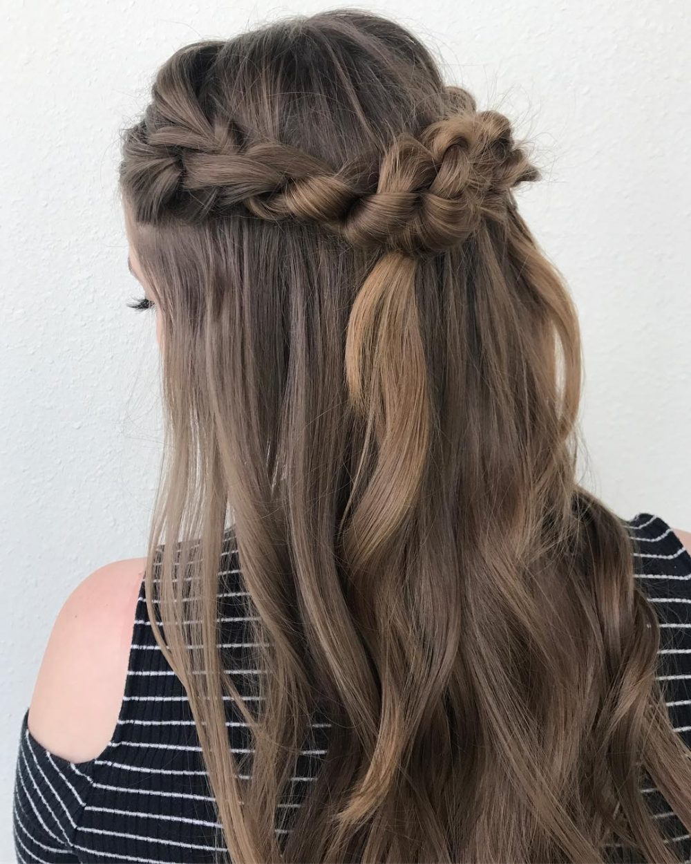 Boho Braided Knots hairstyle