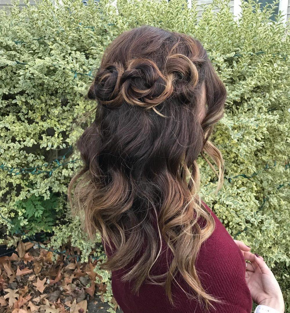 Boho Mermaid hairstyle