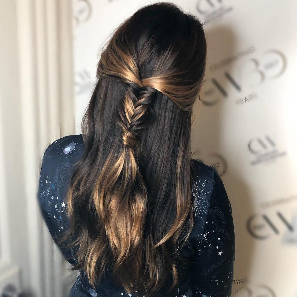 Boho Pony hairstyle