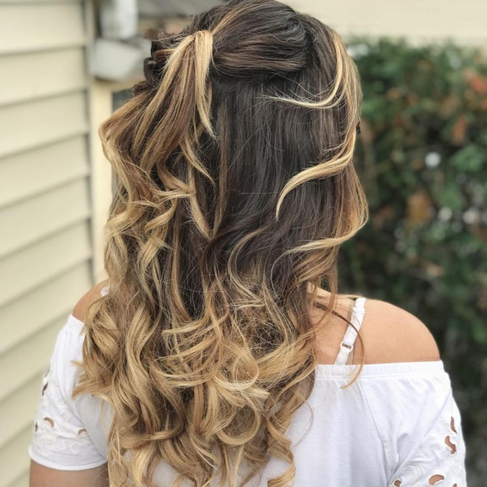 boho hair style 27 easy diy date hairstyles for your special 3071