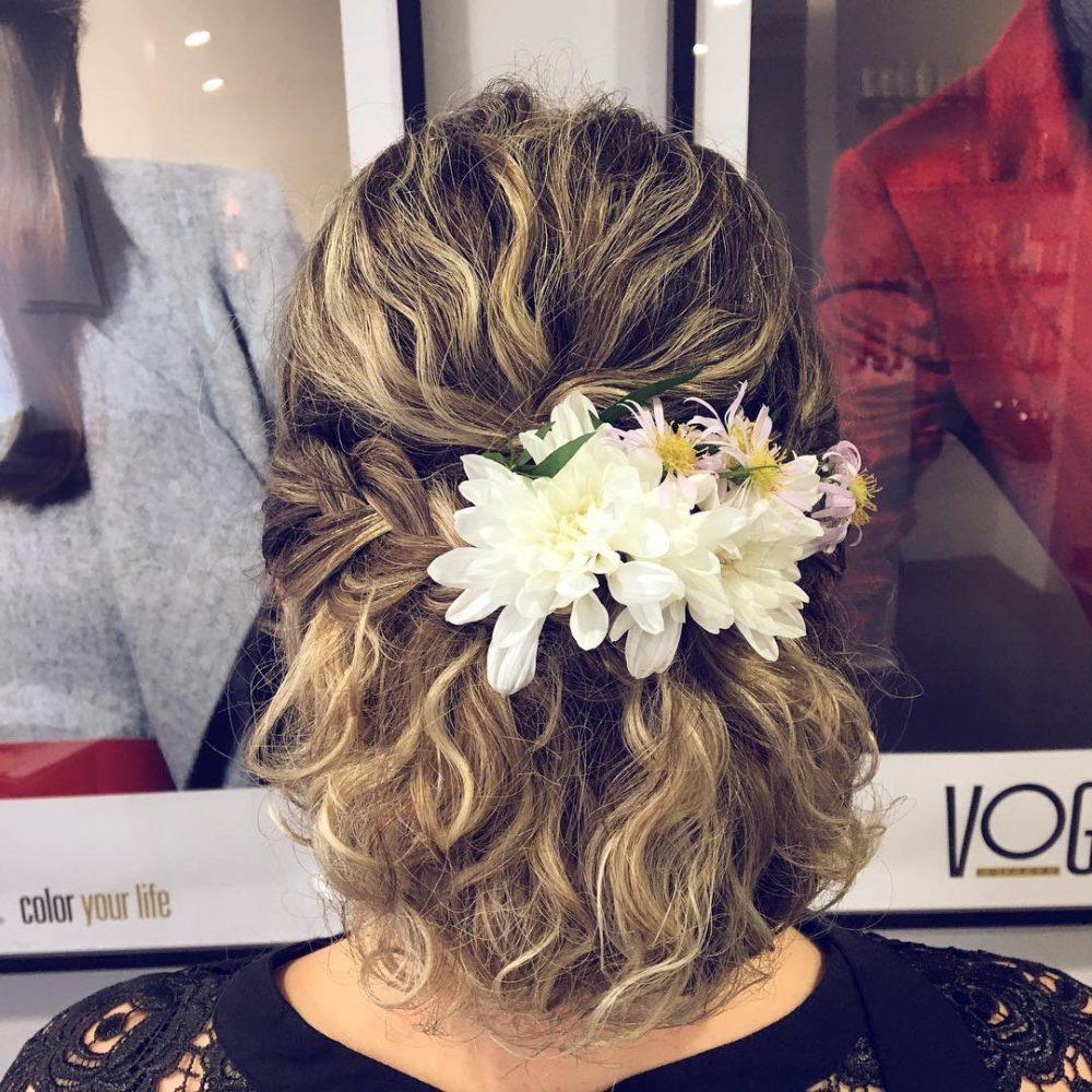 Boho Updo hairstyle