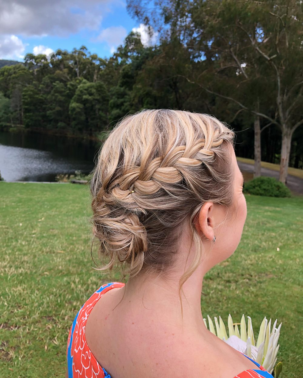 Boho with Mix Braids and Loose Curls hairstyle