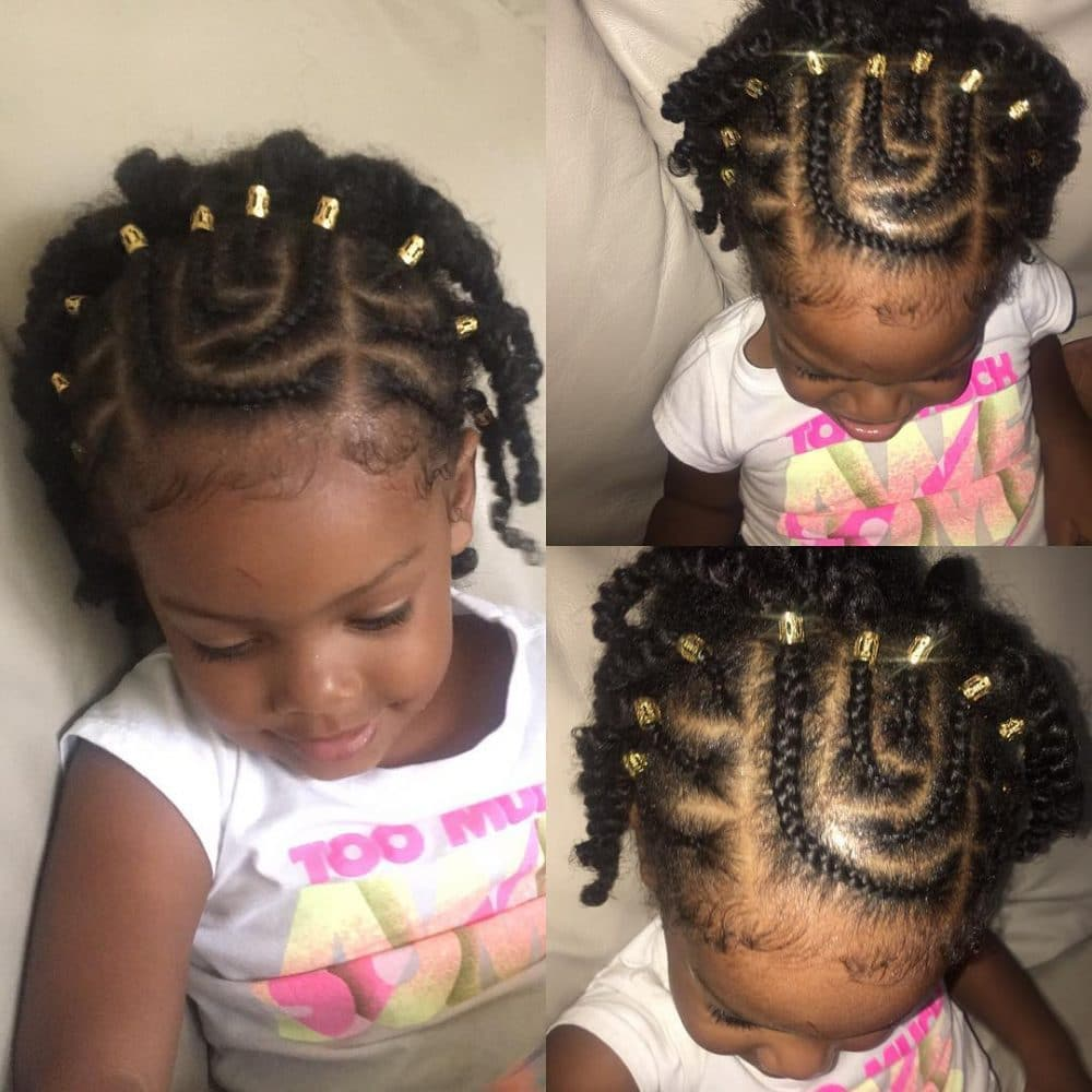18 Stinkin\' Cute Black Kid Hairstyles You Can Do At Home