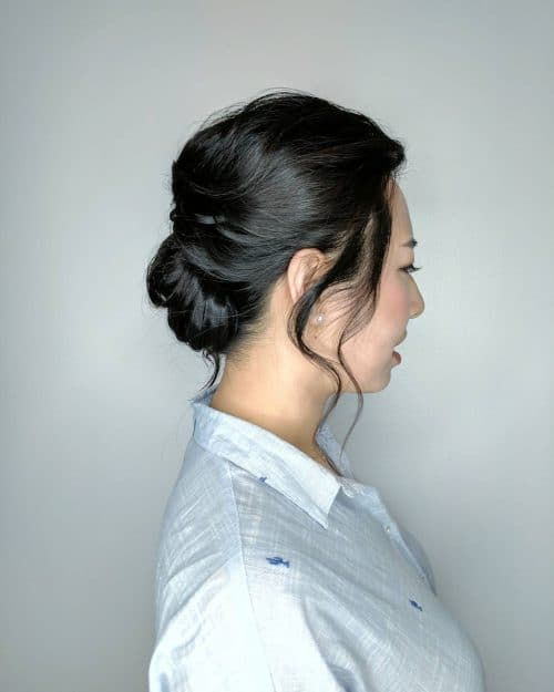 Boho Chic Updo hairstyle