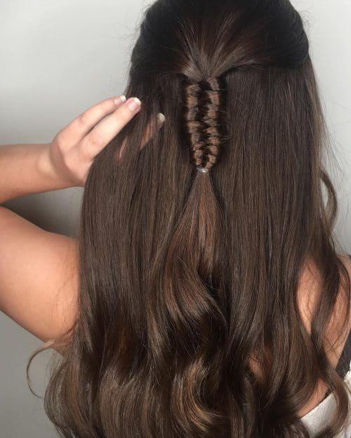 Boho-Inspired Style hairstyle