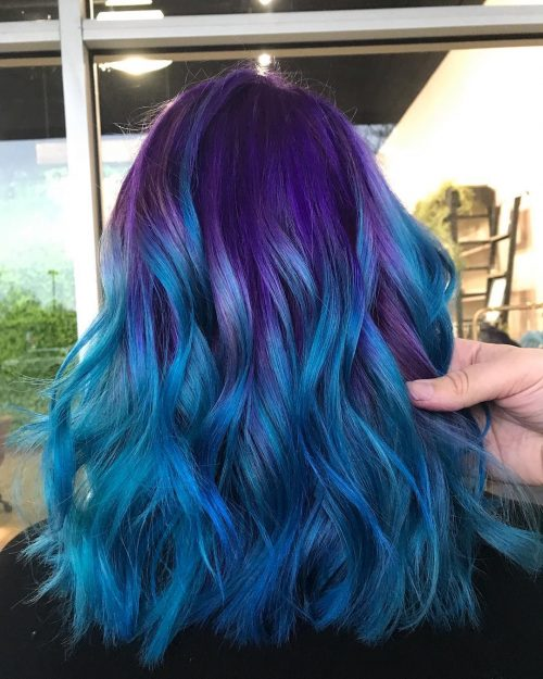 13 Hottest Mermaid Hair Color Ideas Pictures For 2020