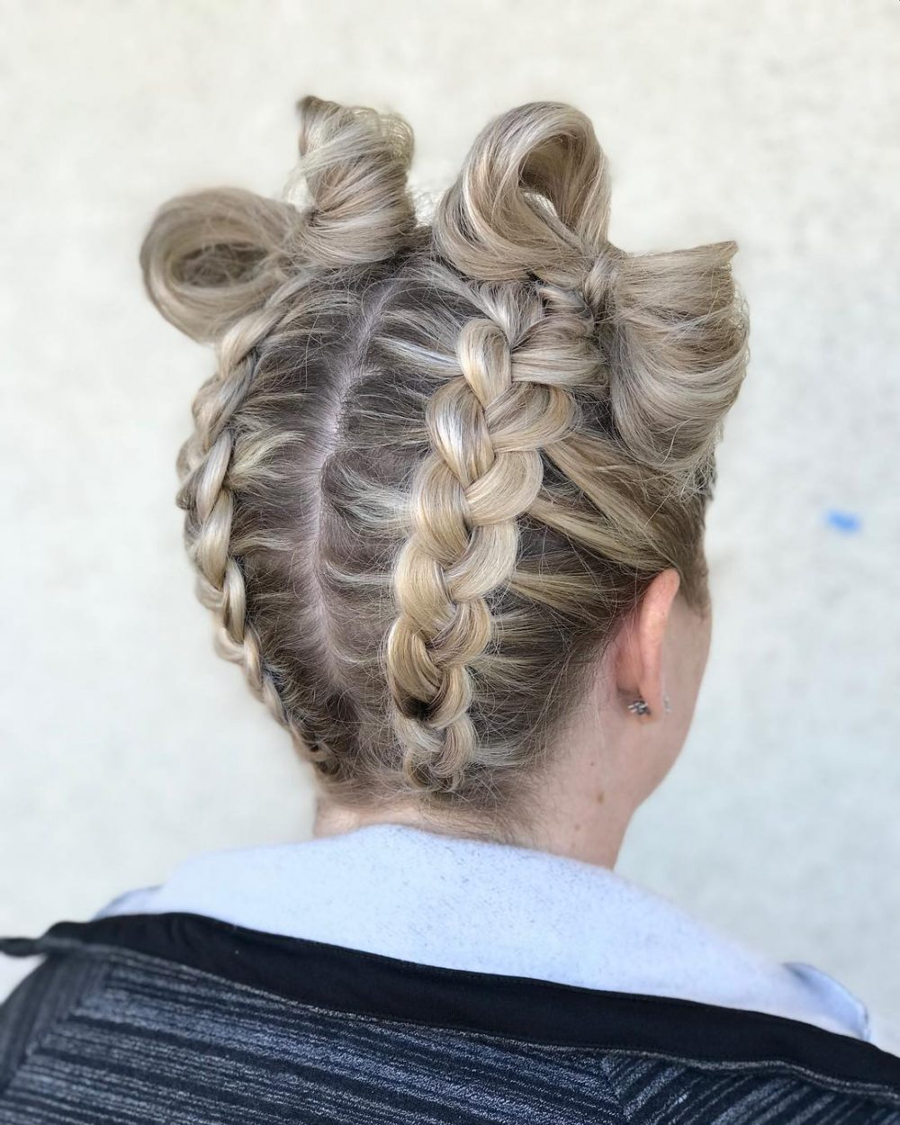 braiding styles for long hair 38 ridiculously hairstyles for hair popular in 4344 | bows and braids cute hairstyles for long hair