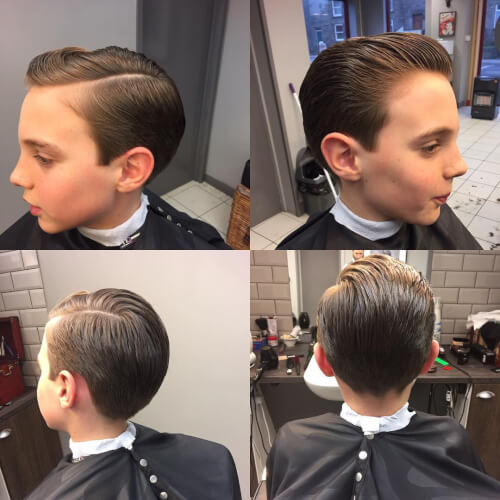 31 Cutest Boys Haircuts For 2018 Fades Pomps Lines Amp More