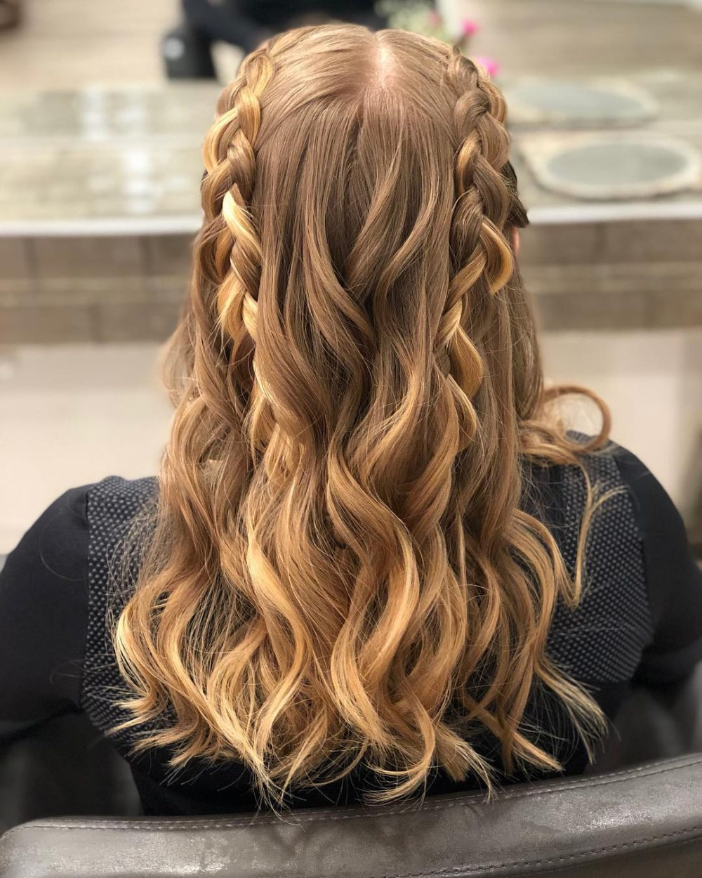 Simple Hairstyle For Wedding Dinner: 50 Party Hairstyles That Are Fun & Chic (Updated For 2018