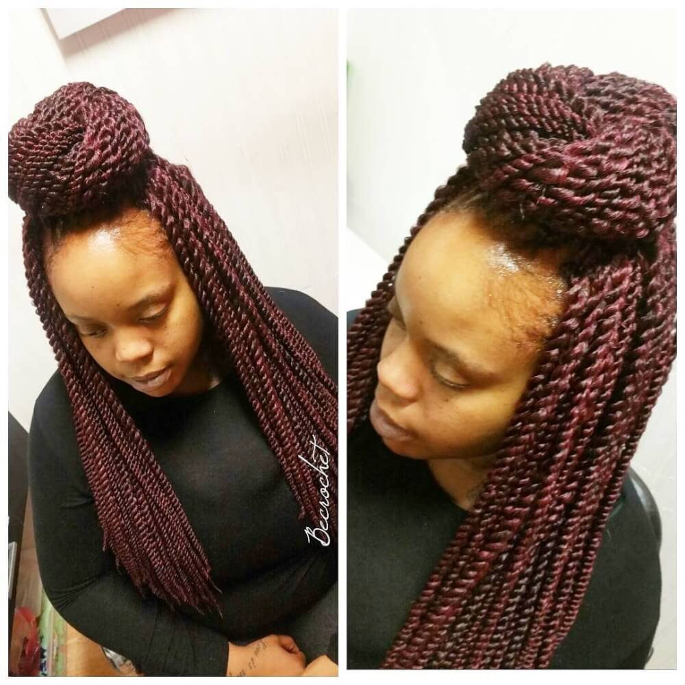 16 new dazzling crochet braid styles for black women creative crochet hairstyle urmus Choice Image