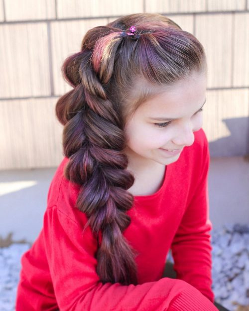 Outstanding 18 Cutest Braid Hairstyles For Kids Right Now Natural Hairstyles Runnerswayorg