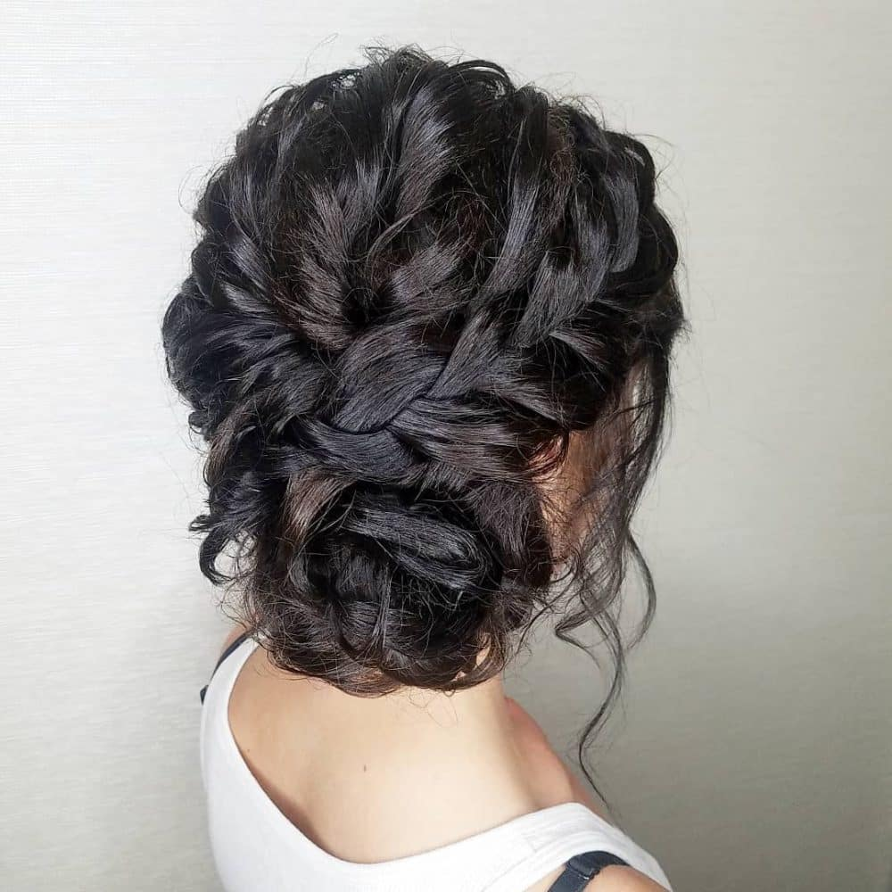 Wedding Hairstyles For Long Hair To The Side: Cute & Easy Updos For 2020