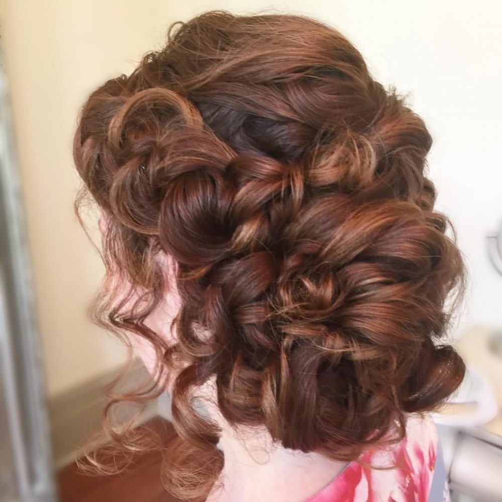 Braided Side Upstyle Hairstyle