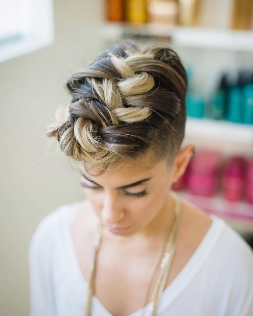 Latest Hair Style 2018 Attend Wedding Hair Tied Back: 50 Party Hairstyles That Are Fun & Chic (Updated For 2018