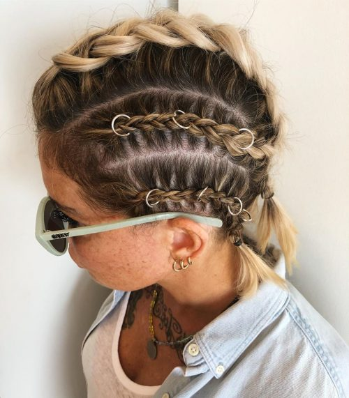 Braids for Thin Short Hair