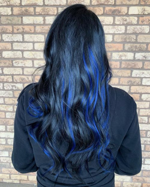19 Most Amazing Blue Black Hair Color
