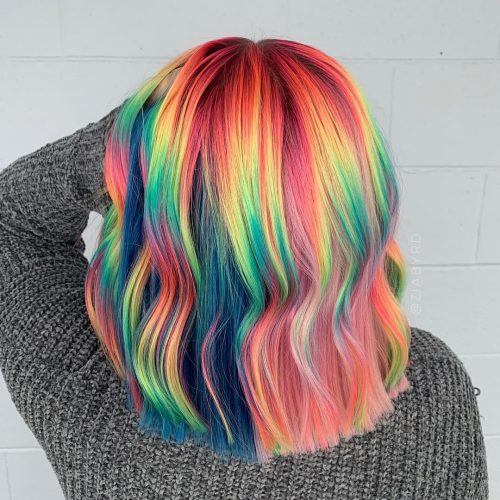 29 Photos Of Rainbow Hair Ideas To Consider For 2020