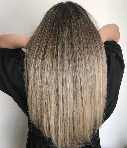 18 Balayage Straight Hair Color Ideas You Have to See in 2019